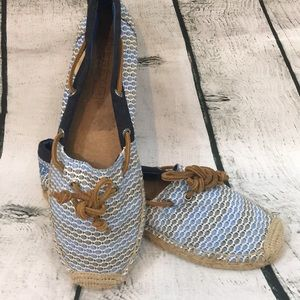 EUC cute Sperry Topsider fish Espadrilles